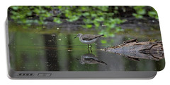 Portable Battery Charger featuring the photograph Sandpiper In The Smokies II by Douglas Stucky