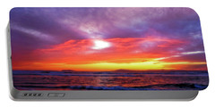 Sandpiper Sunset Ventura California Portable Battery Charger