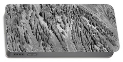 Sands Of Time Monochrome Art By Kaylyn Franks  Portable Battery Charger