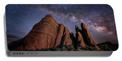 Sandstone And Milky Way Portable Battery Charger