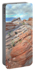 Sandstone Crest In Valley Of Fire Portable Battery Charger