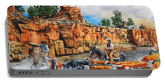 Sandstone Crossing Portable Battery Charger by Ruanna Sion Shadd a'Dann'l