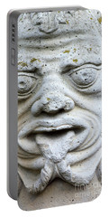 Sandstone Sculpture At The Main Entrance Of The Corvey Monastery Portable Battery Charger