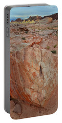Sandstone Shield In Valley Of Fire Portable Battery Charger