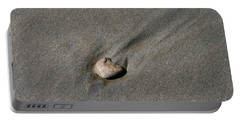 Sandstone Portable Battery Charger by Victoria Harrington