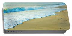 Sandy Hook Beach, New Jersey, Usa Portable Battery Charger