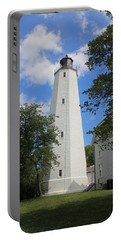 Sandy Hook Lighthouse Tower Portable Battery Charger