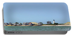 Sandy Neck Lighthouse Sea Livin Portable Battery Charger