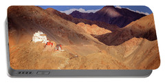 Portable Battery Charger featuring the photograph Sankar Monastery by Alexey Stiop