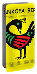 Sankofa Bird Of Knowledge Portable Battery Charger