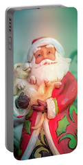 Santa And Lab Pup Portable Battery Charger