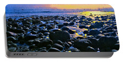 Santa Barbara Beach Sunset California Portable Battery Charger