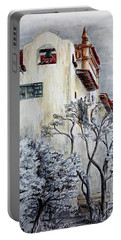 Santa Barbara Courthouse Bell Tower Portable Battery Charger