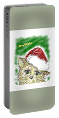 Santa Cat Portable Battery Charger