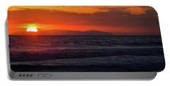 Santa Catalina Island Sunset Portable Battery Charger