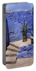 Portable Battery Charger featuring the photograph Santa Catalina Monastery by Aidan Moran