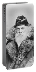 Santa Claus Portable Battery Charger by David Bridburg