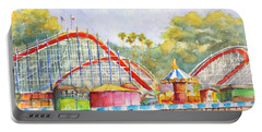 Santa Cruz Beach Boardwalk Portable Battery Charger