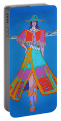Santa Fe Girl  Portable Battery Charger