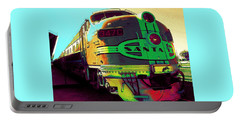 Santa Fe Railroad New Mexico Portable Battery Charger