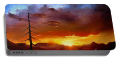 Santa Fe Sunset Portable Battery Charger