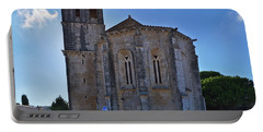 Santa Maria Do Carmo Church In Lourinha. Portugal Portable Battery Charger
