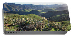 Santa Monica Mountains - Hills And Cactus Portable Battery Charger