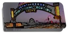 Santa Monica Pier Portable Battery Charger