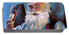 Santa Rests Portable Battery Charger