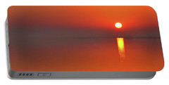 Santa Rosa Sound Sunrise Minimalism Panoramic Portable Battery Charger