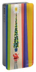 Santa's Christmas Tree Portable Battery Charger