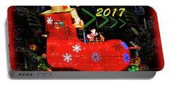 Santa's Magic Stocking Portable Battery Charger