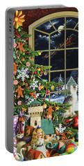 Santa's Visit Portable Battery Charger