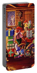 Santa's Workshop Portable Battery Charger