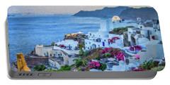 Santorini Greece Dwp416136  Portable Battery Charger
