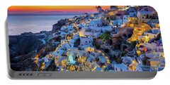 Santorini Sunset Portable Battery Charger