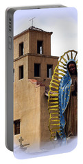 Portable Battery Charger featuring the photograph Santuario De Guadalupe Santa Fe New Mexico by Kurt Van Wagner