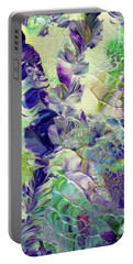 Sapphire Violet Portable Battery Charger