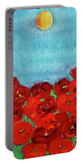 Sarah's Poppies Portable Battery Charger