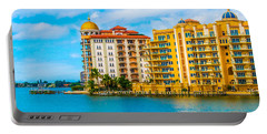 Sarasota Architecture Portable Battery Charger