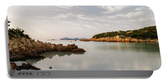 Sardinian Coast I Portable Battery Charger by Yuri Santin