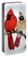 Sassy Pair Portable Battery Charger by Marcia Baldwin