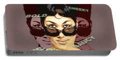 Sassy Soul Queen Aretha Franklin Portable Battery Charger