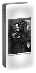 Satan Tempting John Wilkes Booth Portable Battery Charger