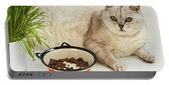 Sated Cat Portable Battery Charger