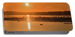 Saturday Morning Along The Estuary Pano Portable Battery Charger
