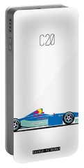 Sauber Petronas C20 F1 Poster Portable Battery Charger