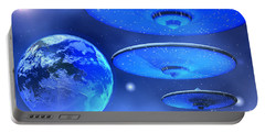 Saucers Portable Battery Charger