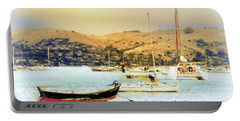Sausalito Sailboats Portable Battery Charger