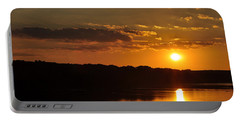 Savannah River Sunset Portable Battery Charger